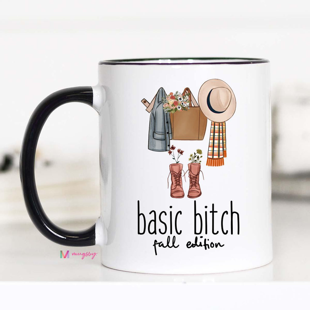 Basic B Fall Edition Coffee Mug