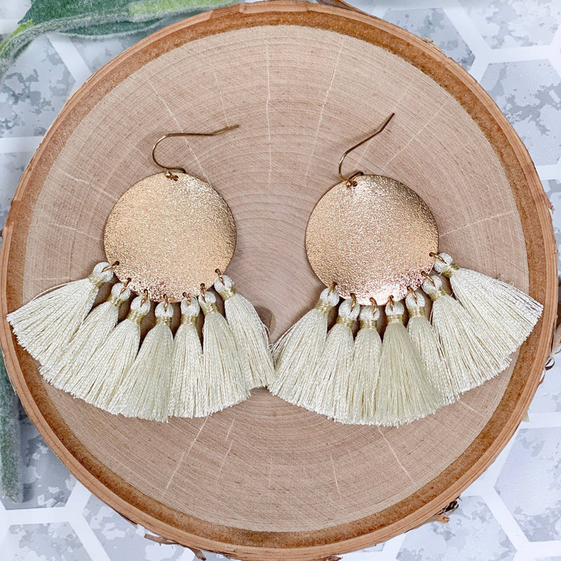 Trudy Earrings - Ivory