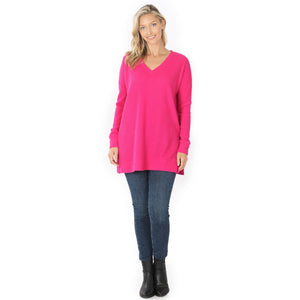 Loretta Brushed Thermal Top