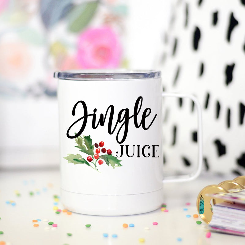 Jingle Juice Travel Mug