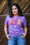 Crawfish Love Tee - Purple