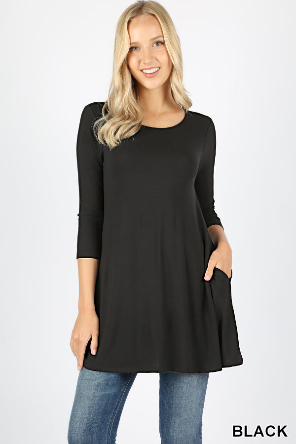 Lily Boat Neck Top