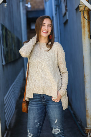 Light Sweater - Beige