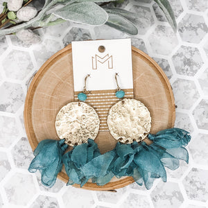 Turquoise - Cleo Earrings