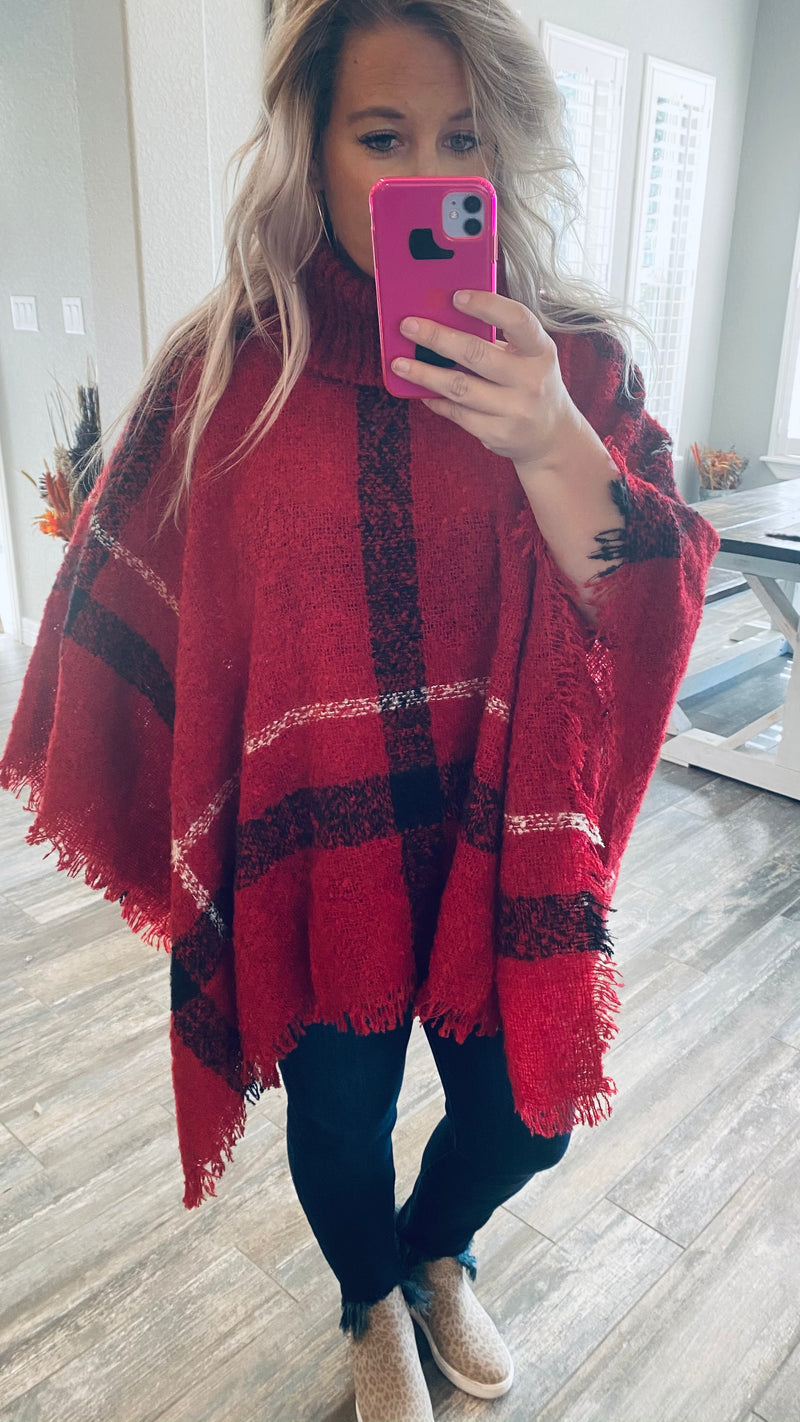 Betty Classic Fall Poncho