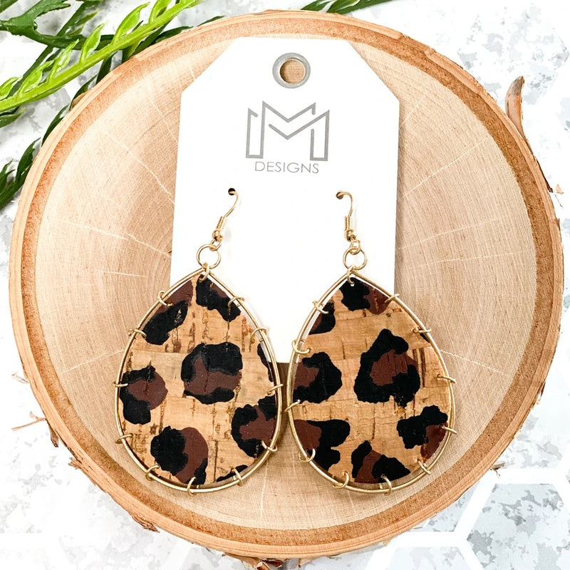 Corky Leopard Earrings