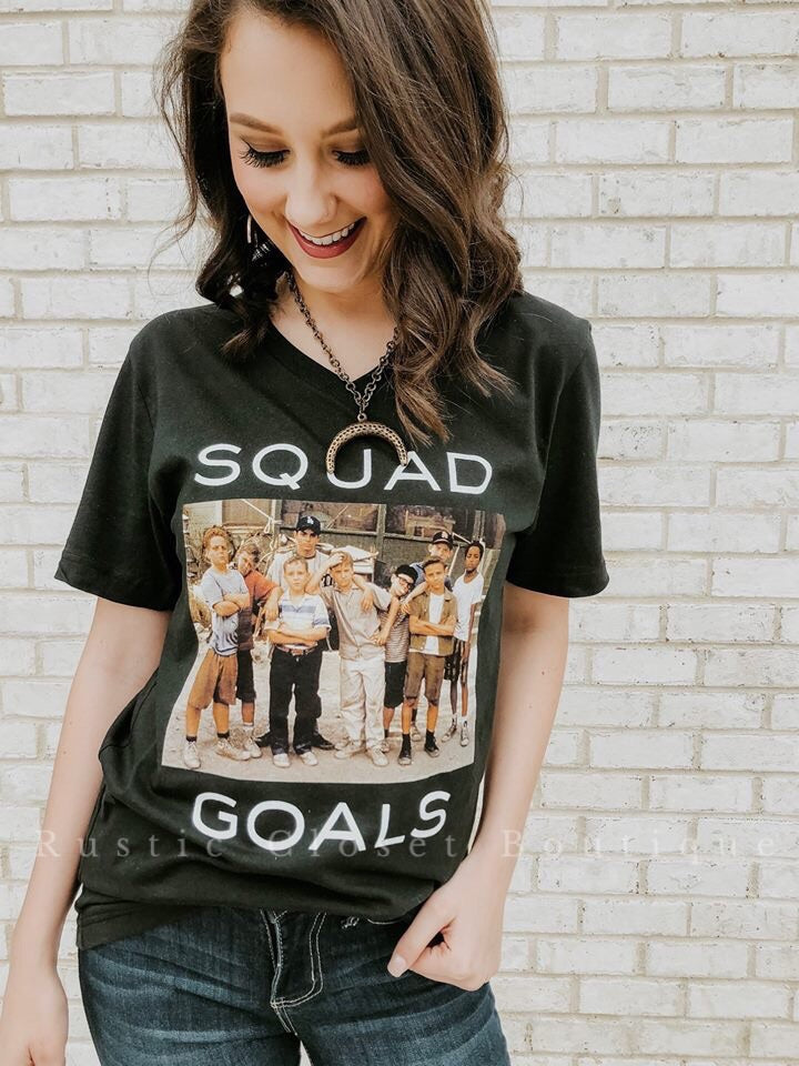 Squad Goals Tee **PREORDER**