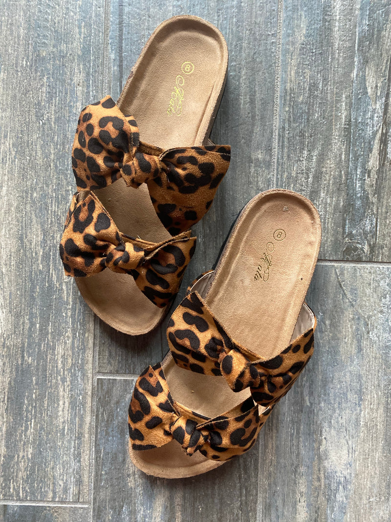 Boardwalk Sandal - Leopard