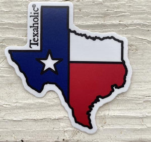 Texaholic Sticker