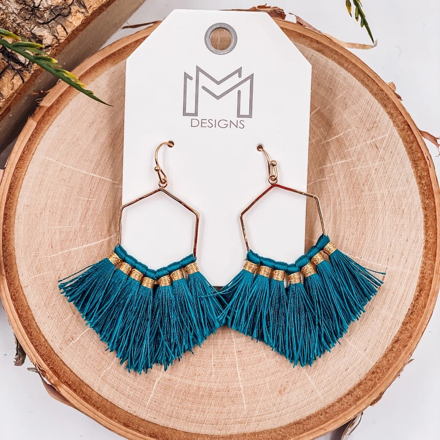 Harrison Fringe Earrings