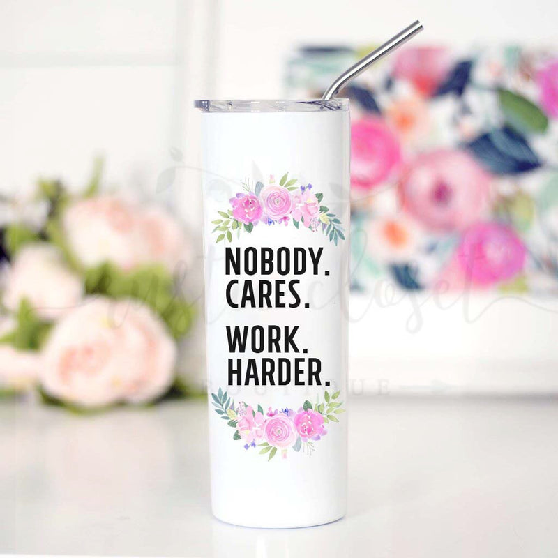 Nobody Cares Travel Cup