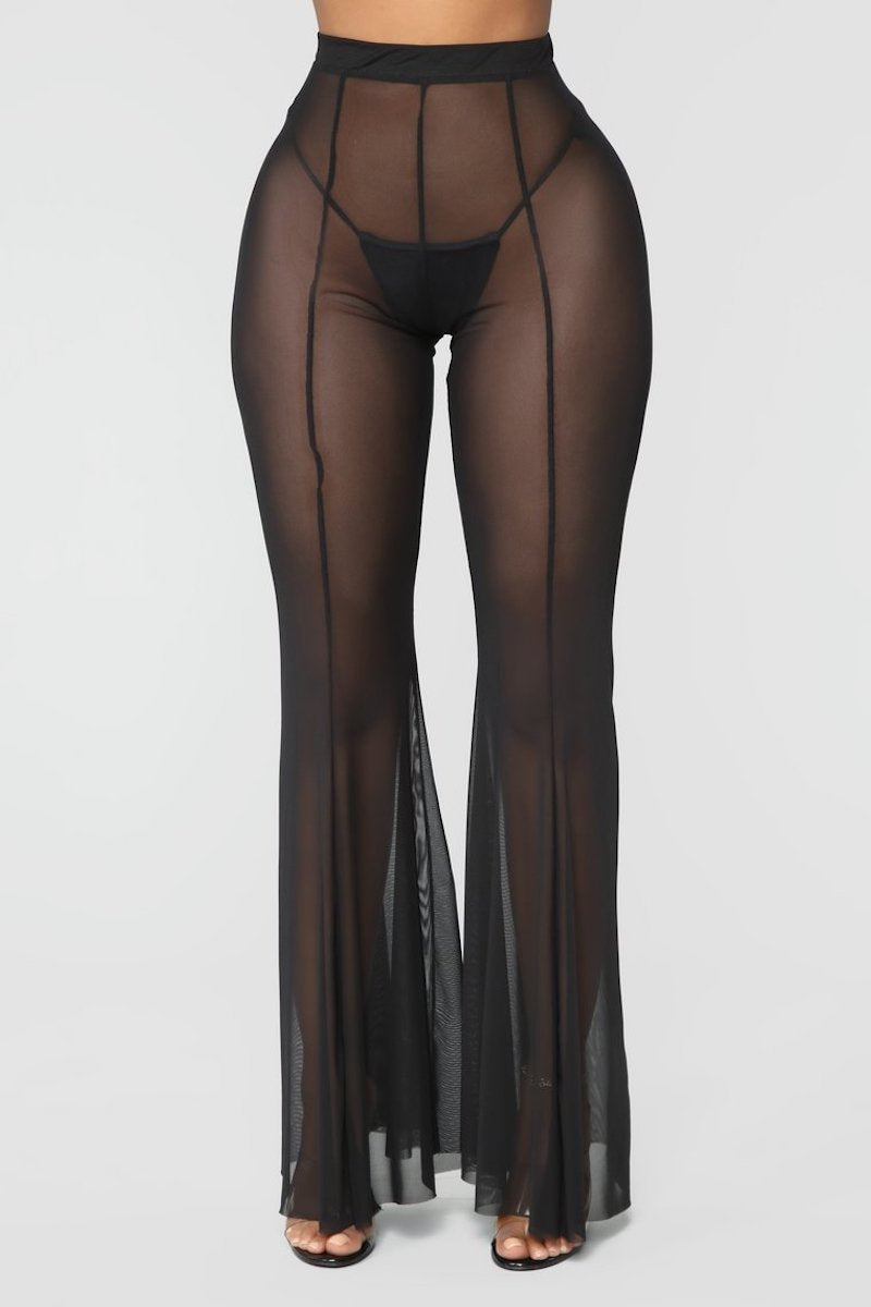 Sheer Pants Cover Up - Escape Swimwear