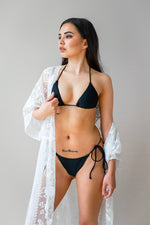 Load image into Gallery viewer, Azalea Top Black - Escape Swimwear