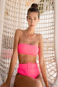 Carmela Set Pink - Escape Swimwear