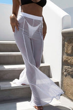 Load image into Gallery viewer, Sheer Pants Cover Up - Escape Swimwear