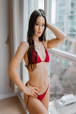 Load image into Gallery viewer, Azalea Set Red - Escape Swimwear