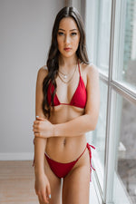 Load image into Gallery viewer, Azalea Top Red - Escape Swimwear