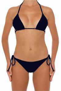 Azalea Top Black - Escape Swimwear