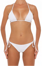 Load image into Gallery viewer, Azalea Top White - Escape Swimwear