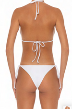 Load image into Gallery viewer, Azalea Bottoms White - Escape Swimwear