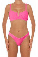Load image into Gallery viewer, Ella Set Pink - Escape Swimwear