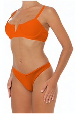 Load image into Gallery viewer, Ella Top Orange - Escape Swimwear