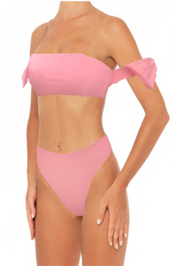 Rachel Set Pink - Escape Swimwear