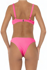 Load image into Gallery viewer, Ella Top Pink - Escape Swimwear