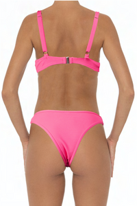 Ella Bottoms Pink - Escape Swimwear