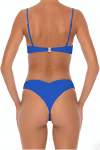 Tana Top Blue - Escape Swimwear