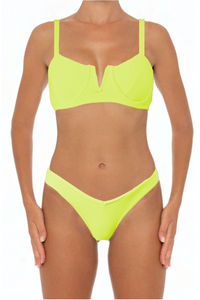 Ella Set Lime - Escape Swimwear