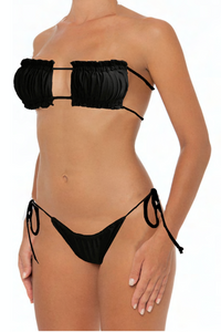 Julie Set Black - Escape Swimwear