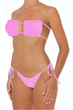 Load image into Gallery viewer, Julie Bottoms Pink - Escape Swimwear