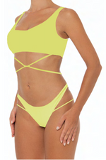 Load image into Gallery viewer, Thao Set Green - Escape Swimwear