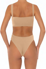 Load image into Gallery viewer, Sadira Top Taupe - Escape Swimwear