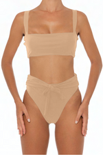 Load image into Gallery viewer, Sadira Set Taupe - Escape Swimwear