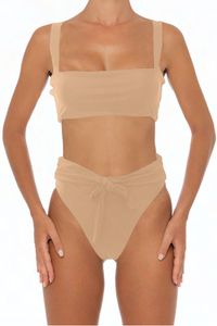 Sadira Set Taupe - Escape Swimwear