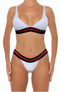 Elisa Bottoms White - Escape Swimwear