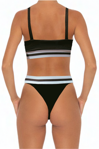 Elisa Bottoms Black - Escape Swimwear