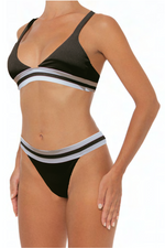 Load image into Gallery viewer, Elisa Top Black - Escape Swimwear