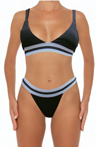 Elisa Top Black - Escape Swimwear