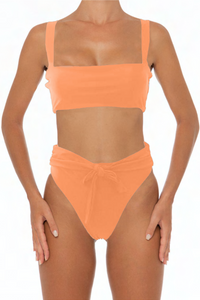 Sadira Top Coral - Escape Swimwear