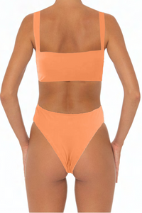 Sadira Set Coral - Escape Swimwear