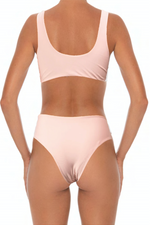 Load image into Gallery viewer, Solidify Bottoms Blush - Escape Swimwear