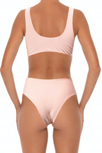 Solidify Top Blush - Escape Swimwear