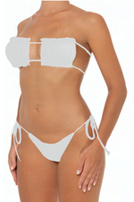Load image into Gallery viewer, Julie Bottoms White - Escape Swimwear
