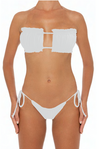 Julie Set White - Escape Swimwear