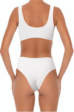 Load image into Gallery viewer, Solidify Bottoms White - Escape Swimwear