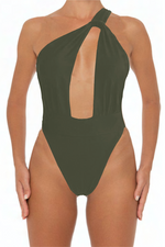 Load image into Gallery viewer, Venus One Piece Army - Escape Swimwear