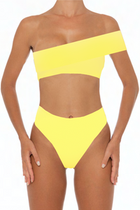 Kimmy Bottoms Yellow - Escape Swimwear